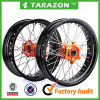 KTM high performance CNC Aluminium alloy motorcycle front&rear Spoke wheels