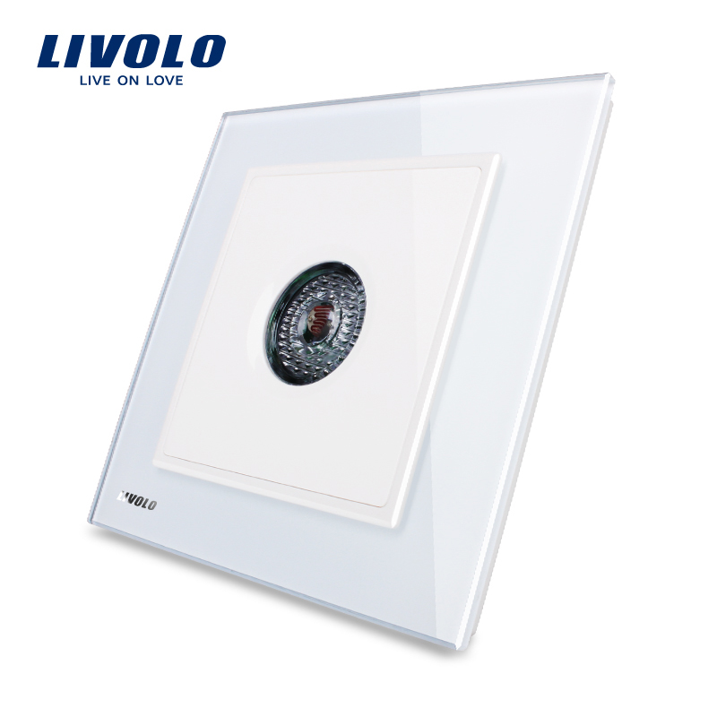 Knight Crystal Glass Panel Sound & light Control/Motion Sensor time-delay wenzhou livolo electric wall <strong>Switch</strong> VL-W291SG-12