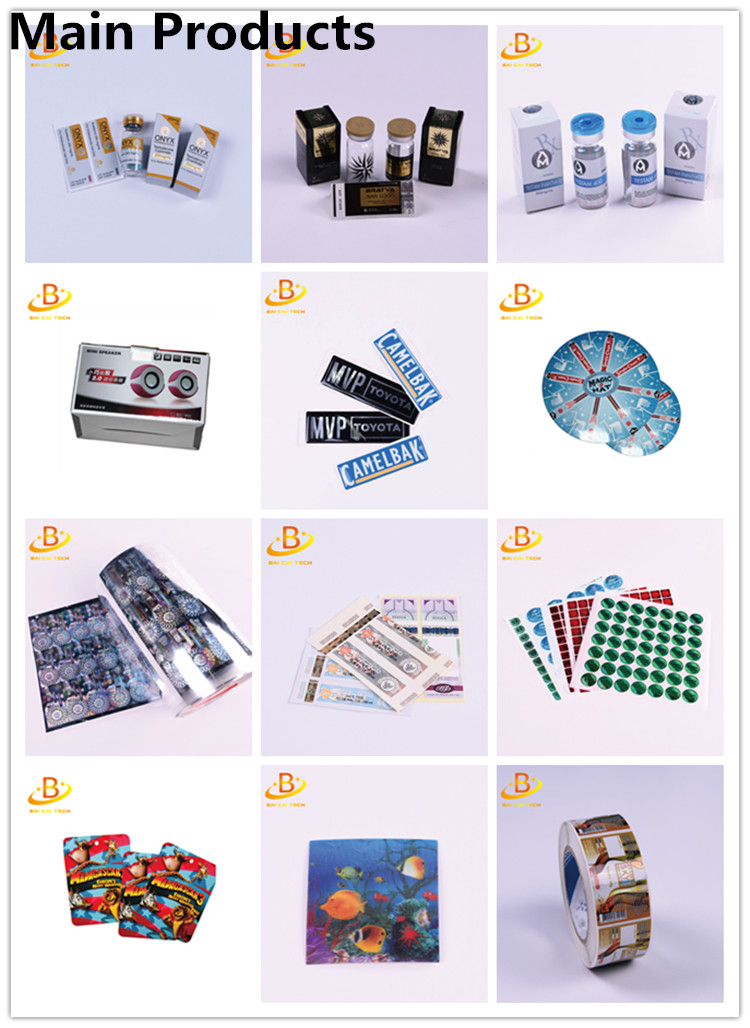Cheap price wholesale custom product adhesive package sticker label