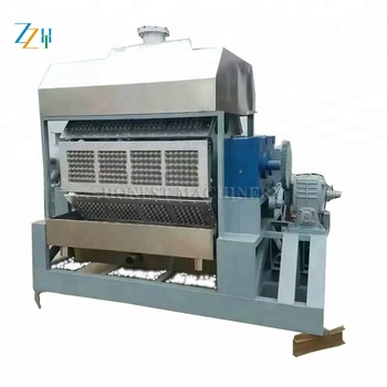 Fully Automatic Recycling Paper Egg Trays Machine / EggTray Making Machine Product Line