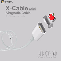 White Magnetic USB Cable for iPhone 7 6S 6 5C 5S 5g iPad Data Charger