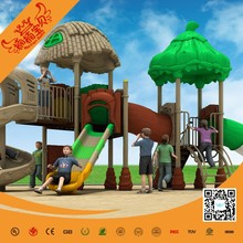 corrosion-proof outdoor playground used plastic slide playground for sale