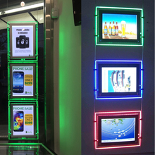 Colorful Magnetic Window LED Light Pockets