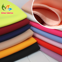 Spandex Fabric knitted fabric interlayer fabric Skirt jacket suits outfit Baseball jacket 3 layers Sanwich design
