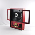 New Style Antique USB SD Card Gramophone Turntable Record Player