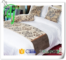 embroidery turkey made bedding set /lace bed sheet cushion cover pillow cover
