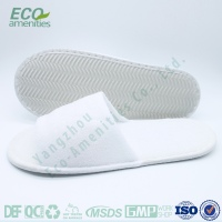New style hotel man slipper white pu soft slipper