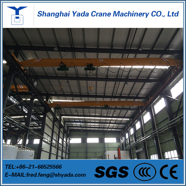 Different Models of 1-20t lda type single girder bridge crane