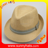 fashion fedora men's hats making factory