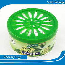 Relaxing and relieving tiredness car air freshener long lasting solid perfume/ Chinese soli solid perfume containers wholesale/
