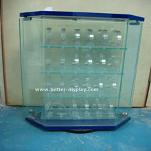acrylic wall mounted watch display case