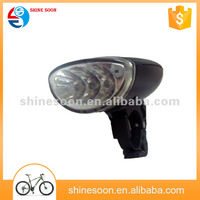 Factory supply top quality bright led front solar bicycle light