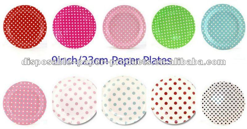 Pink Dots and Stripes Paper Napkins /Serviettes 33cm/13inch, Packs of 20