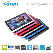 Cheapest Price Allwinner A33 Q88 Android 4.4 7 inch Quad core Tablet