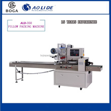 ALD-350D automatic feeding film bag making hand soap flow packing machine