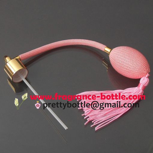 pink pump gasbag for perfume bottles packaging
