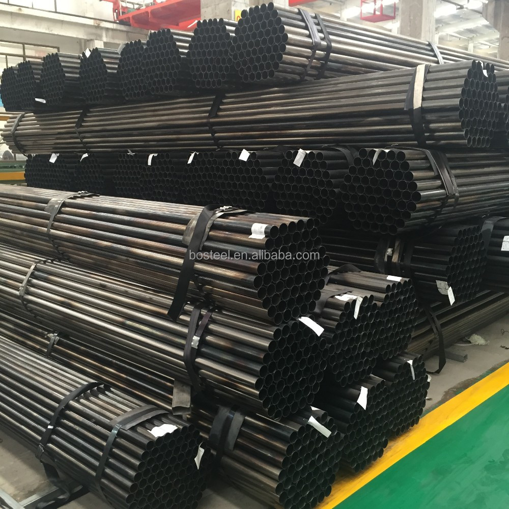 price astm a53 schedule 20 40 80 low galvanized black carbon Erw steel pipe manufacture