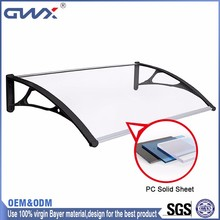 100% Virgin Bayer Material Awnings And Canopies Polycarbonate
