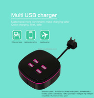 USB multi-charger for smart phone