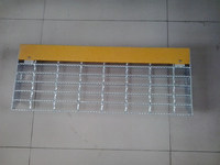 outdoor hot dip galvanized steel grating stair tread