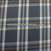 300D polyester yarn dyed check oxford fabric for bags&chair wheel office chair seat cover fabric