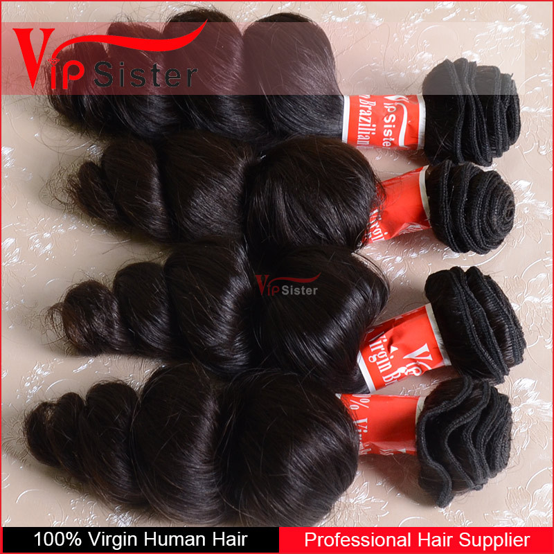 Vipsister Hair unprocessed raw indian virgin hair ,curly hair