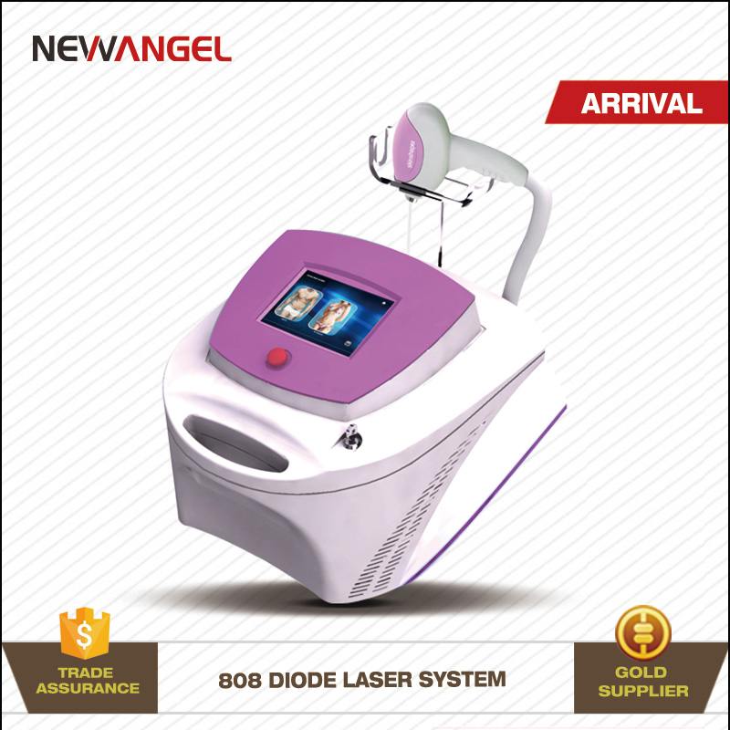 Advanced painless treatment skin protecting 808nm soft light laser hair removal