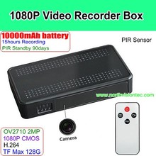 1080p HD full hd car black box dvr camera with long time recording and TF Max 128G