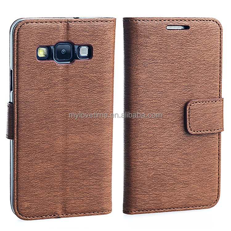 New best-selling pu leather flip case for Samsung Galaxy A3 with TPU housing