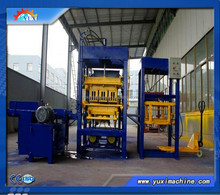 Fly ash brick making machine from small to medium use