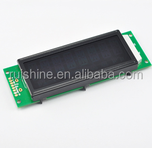 FFSTN high contact dark 14 Segment lcd Display for appliance
