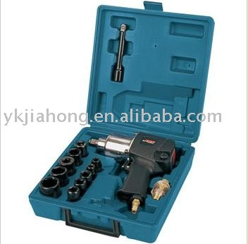 "1/2""Air Impact Wrench Kit, Twin hammer impact mechanism(89005K)"