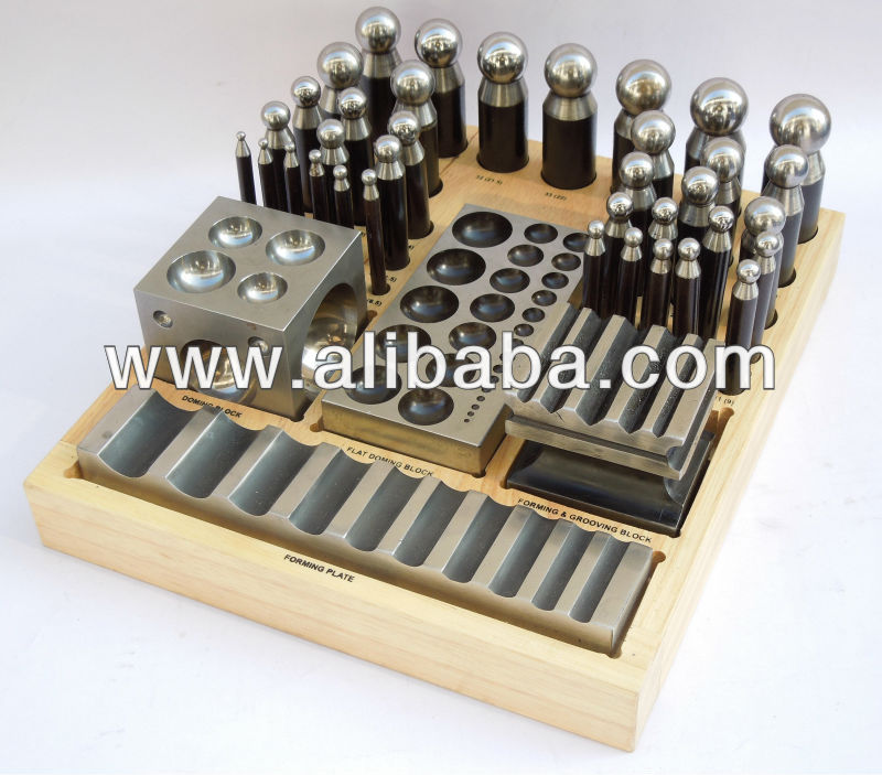 Jumbo Dapping Punch & Dapping Block set