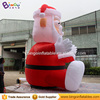 Christmas inflatables 16ft santa claus reading book
