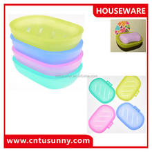 customized colorful plastic soap dish bathroom accessories