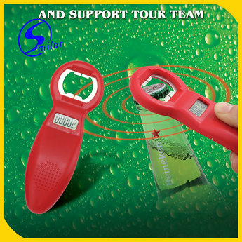 Wholesale New Shape Aluminum Automatic Push Down Bottle Opener