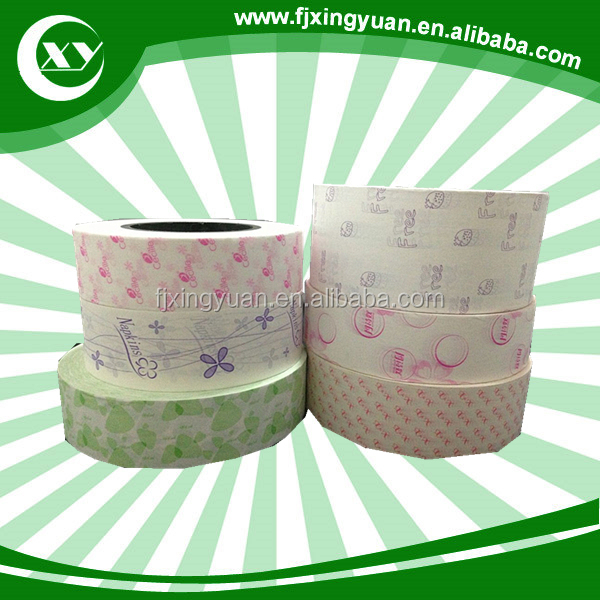 High absorption cheap sanitary towel raw materials Silicone Released paper