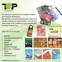 Doing Banner, Book,Magazines, Catalogue many more