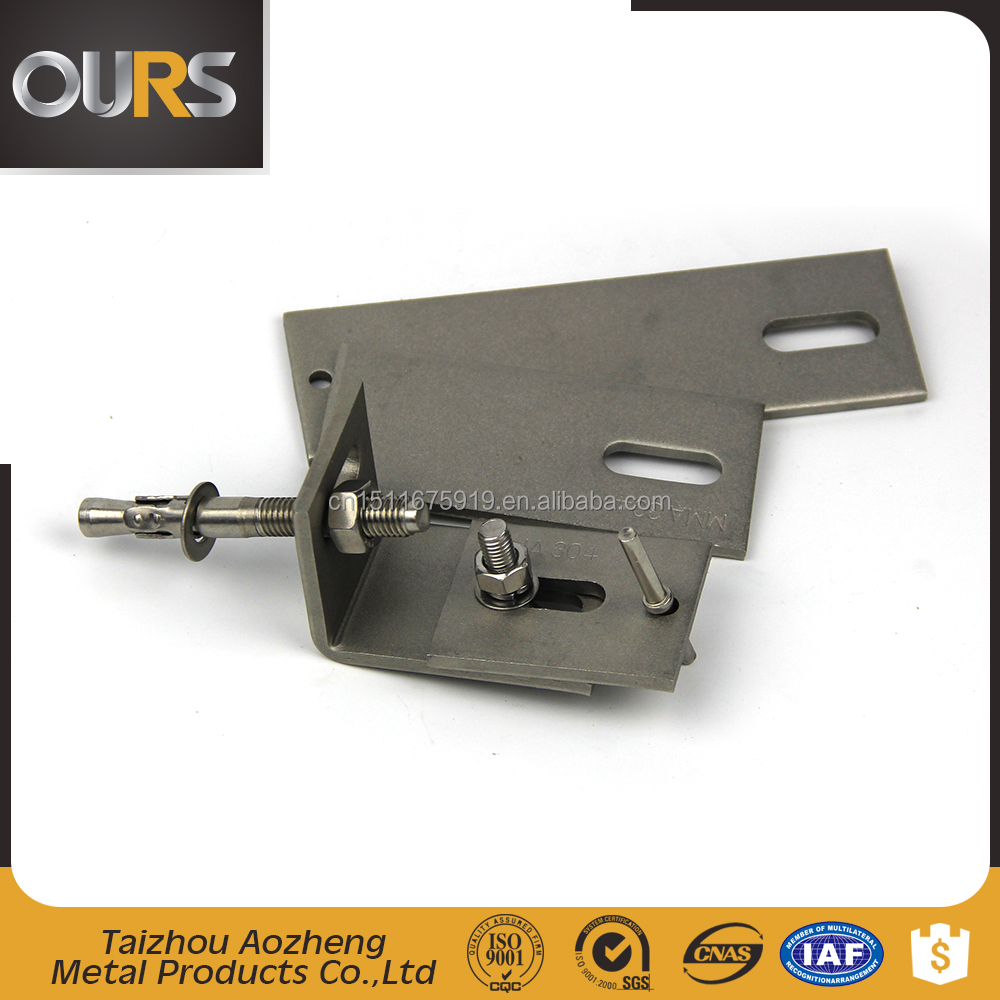 stainless steel metal mounting bracket
