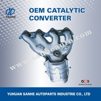 Exhaust Pipe Type Turbo Exhaust Manifold for Automobile
