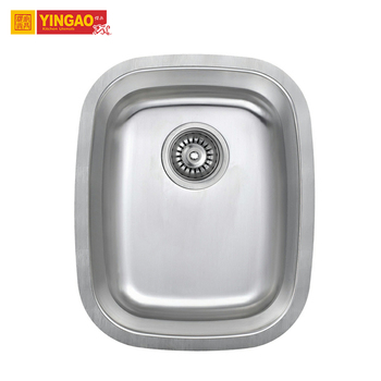 Professional Customized Mexican Stainless Steel Kitchen Sink with Drain Board