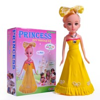 20CM Baby Doll Princess Clay DIY for Children Baby Doll