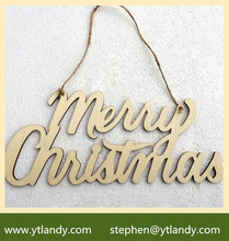 Factory Price wood Christmas Ornament