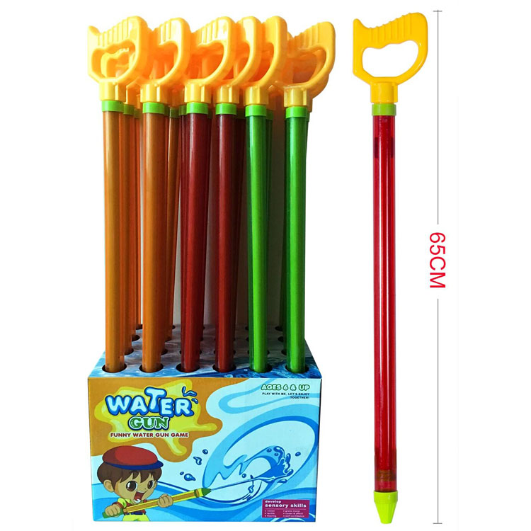 Funny Water Gun Game 65CM Lucency Shooter Gun Summer Toy with Handle