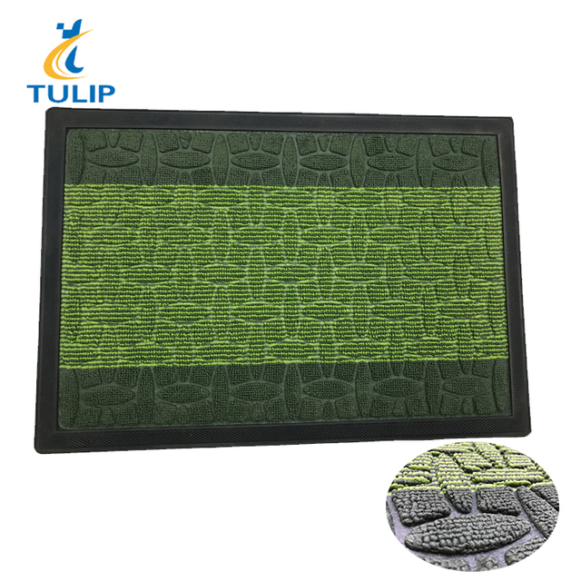 New Design Jacquard Floor Anti-Slip Polypropylene Fiber Surface Door Mat