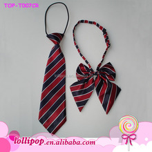 Wholesale double sided self tie cute handsome adjustable boy bowtie kids necktie baby anime cosplay bow tie