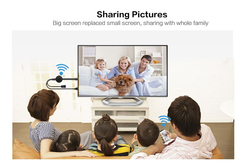 Newest RK3036 TV Airplay Mirror Dlna Miracast Wifi Audio Dongle
