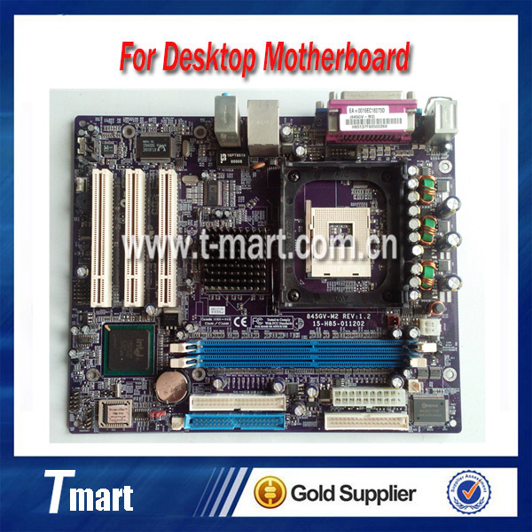 100% working desktop Motherboard for Lenovo 845GV-M2 original Mainboard,Fully tested.