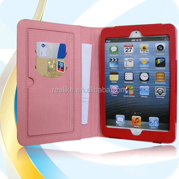 cork leather case for ipad mini for kids ,New arrival !! hot selling
