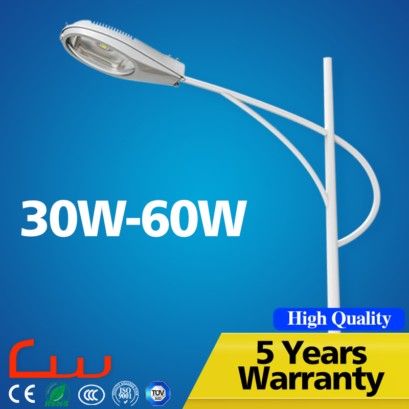 Manufacturers Outdoor 50W 7M LED Street Light With Meanwell Driver